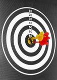 Magnetic dart Royalty Free Stock Image
