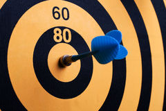 Magnetic Dart Board With Darts Royalty Free Stock Image
