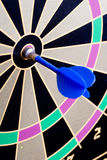 Magnetic Dart Board With Darts Royalty Free Stock Photos