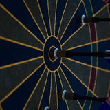 Magnetic darts Stock Images