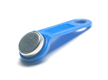 Magnetic door key Royalty Free Stock Images