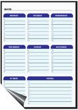 Magnetic Dry Erase Board royalty free illustration
