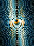 Magnetic field Royalty Free Stock Image