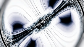 Magnetic Field. Abstract Scientific Illustration Stock Photo