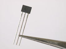 Magnetic field sensor. In tweezers Royalty Free Stock Images