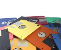 Magnetic floppy disk Stock Photo