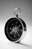 Magnetic handheld compass with copyspace Stock Photos