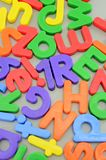 Magnetic Letters Royalty Free Stock Photography