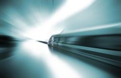 Magnetic levitation train Stock Image