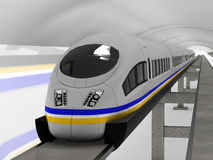 Magnetic levitation train #4 Royalty Free Stock Photography