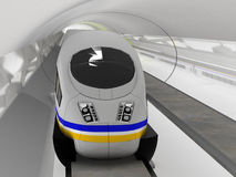 Magnetic levitation train #2 Royalty Free Stock Photos