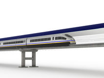 Magnetic levitation train #2 Stock Photography