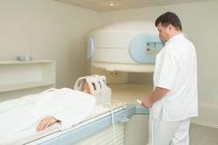 Magnetic resonance imaging Royalty-vrije Stock Foto's