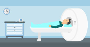 Magnetic resonance imaging. Royalty Free Stock Images