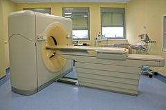 Magnetic resonance imaging scanner 06 royalty free stock images