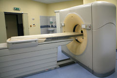 Magnetic resonance imaging scanner 10 stock photo