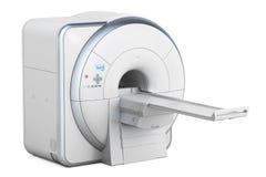 Magnetic Resonance Imaging Scanner MRI, 3D rendering. On white background Stock Photo