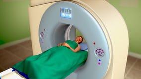 Magnetic resonance imagingsaftasten (MRI-Aftasten) royalty-vrije illustratie
