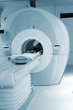 Magnetic resonance. A sophisticated MRI Scanner at hospital royalty free stock image