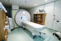 Magnetic resonance spectroscopy machine in hospital Royalty Free Stock Images