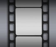 Magnetic strip. An illustration of a filmstrip Stock Photos