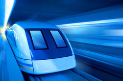 Magnetic suspension train Stock Photography