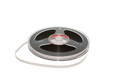 Magnetic tape Stock Photography