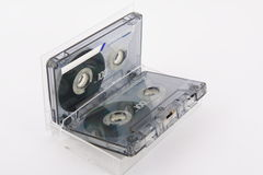 Magnetic tape. For record to music Royalty Free Stock Photos