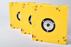 Magnetic tape data storage technology. LTO-10 Royalty Free Stock Photography