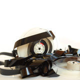 Magnetic tape reel Royalty Free Stock Photo