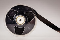 Magnetic tape reel Stock Photo