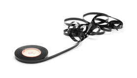 Magnetic tape spool Stock Images