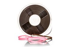 Magnetic tape Royalty Free Stock Images