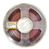 Magnetic tape Stock Photo