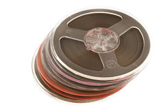 Magnetic tape. Stock Image