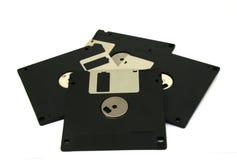 Magnetico a disco magnetico isolato Immagine Stock Libera da Diritti