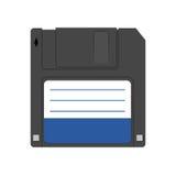 Magnetisch floppy diskpictogram Royalty-vrije Stock Afbeeldingen