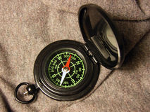 Magnetisch Kompas Royalty-vrije Stock Foto