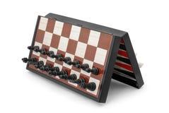 Magnetisch schaak royalty-vrije stock afbeelding