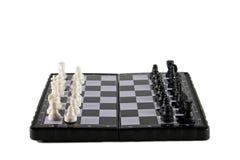 Magnetisch schaak stock foto's