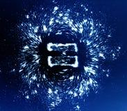 Magnetisch veld Stock Foto's
