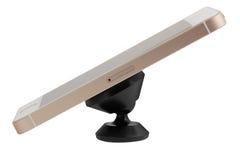 Magnetische auto het Dashboard zet Telefoonhouder op Stock Afbeelding