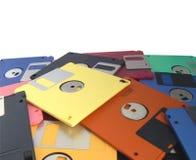 Magnetische Diskette Stockfoto