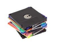 Magnetische diskette Stock Foto's