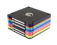 Magnetische diskette Stock Foto