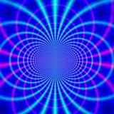 Magnetische lijnen Stock Afbeelding