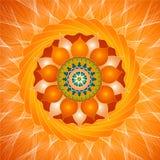 Magnetische Mandala Stockbilder