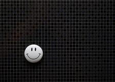 Magnetische smiley Lizenzfreies Stockbild