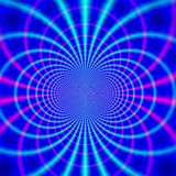 Magnetische Zeilen Stockbild