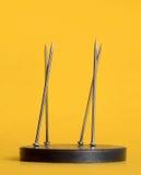 Magnetisierte Stifte Lizenzfreies Stockbild